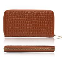 Детали и Аксессуары для сумок high quality Zipper Leather Purse ladies clutch wallet pouch/clutch for women 5 colors B532