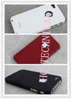 Аксессуары для мобильных телефонов hot sale Newest Moshi iGlaze 4 Hard Shell back Case Cover skin housing for iPhone 4 4G gift