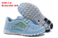 Женские кроссовки Hot Sale 2013 New Cheap Name Brand Run 5.0 Ladies Running Shoes, Run 3 Shoes Women Zapatos Shoes Drop