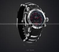 Наручные часы WEDIE luxury brand watch silicone watch band large watch face analog digital display 30 meters waterproofed 12 month guarantee