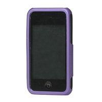 Чехол для для мобильных телефонов Rubberized 3 Piece Hard Case Cover for iPhone 3GS/3G - Purple