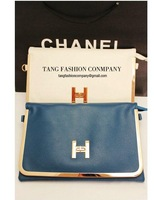 "2012 new ""H "" words button Clutch bag Retro style Evening bag sholuder bag Model No. SQ001"