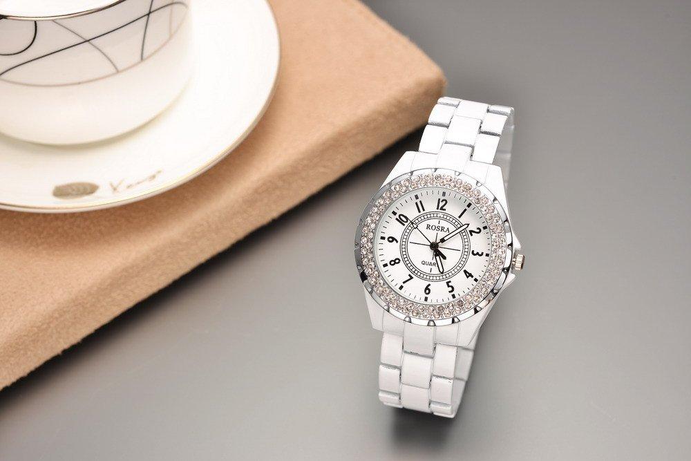 Часы женские белые - WildBerriesru