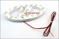 3D логотип автомобиля фонарь для Лада Приора, автомобиль знаком света, водить авто свет, Авто эмблемы светодиодная лампа