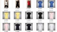 Мужская футболка Women t shirts, fashion brand Women's polo tees, 100%cotton high quality sport tees S-XL