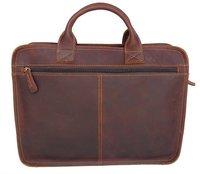6020 100% Real Crazy Horse Leather Men's Briefcases Handbag Bag Laptop bag 2012 Hot Selling