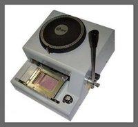 Офисные и Школьные принадлежности manual PVC card embossing press machine 4 Similar