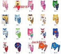 Пижама для мальчиков Lowest Price baby clothing set Baby Pajamas Suits Shirts Underwears Kid Girl Gifts Sleepwear Suit kids Sleepwears