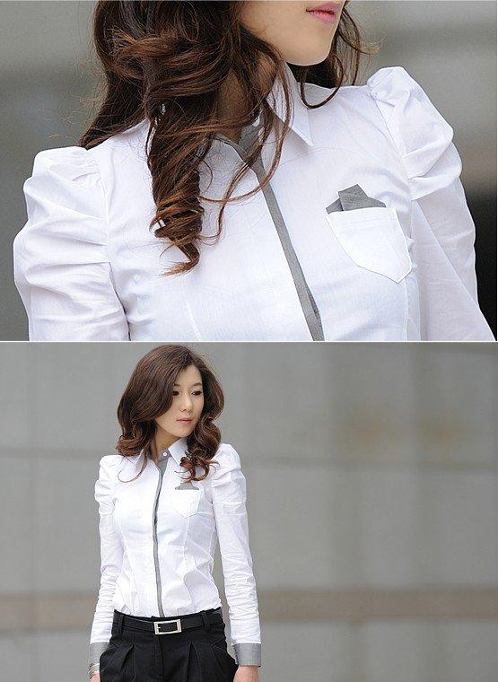 Секс белая блузка 21 фотография