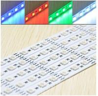 SMD 5050 rgb во главе жесткие полосы света 5050 rgb светодиод бар dc12v шкафа легкими 100 см 60 привело / ПК лучшие цены fedex