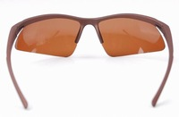 Мужские солнцезащитные очки Brand New Polarized Sport Sunglasses Fashion Polaroid Eyewear Sunglasses for Fishing Brown Colors 303-2
