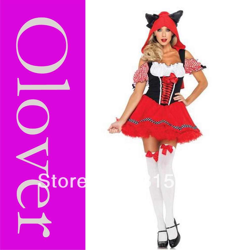Сексуальная девочка в костюме красная шапочка секс смотреть онлайн 5 фотография