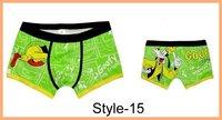 Мужские боксеры Fashion men' underwear/ New arrival men's sexy boxers/Cartoon Men Underwear Mix order Size L XL