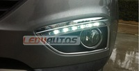 Free Shipping by DHL---One week ,Hyundai IX35 LED DRL,Best LED Daytime Running Light For Hyundai IX35,Free Shipping