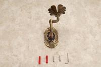 творчество стиль Античная латунь ванной мыла держатель настенный Ванна хранения шельфа