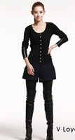 Женские шорты Fast Shipping Newly 2013 Winter fashion slim Women's Mid-waist short pants 6025