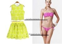 Женские блузки и Рубашки 2013 Fashion Summer women's confortable female beach swimwear, charming sexy