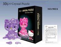 Пазл 3d crystal puzzle 3D DIY 10sets/lot