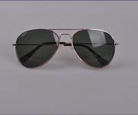 Мужские солнцезащитные очки 2012 SHIPPMENT FASHIONABLE TOP GUN MIRROR AVIATOR SUNGLASSES SHADES 100% UV Protection Fashion Glasses-Golden Green