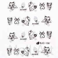 Наклейки для ногтей 14 , 3D 24