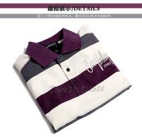 Мужская футболка Big Size 100%cotton Men's POLO t-shirt Hot sale Turn-down collar short sleeve men 6sizes S-3XL