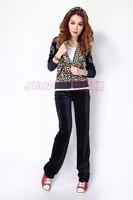 Женские толстовки и Кофты Retail! Brand New Women's suits leisure suit sportswear Tracksuits ladies' Velvet Suit Many colors! Size:M/L/XL/XL