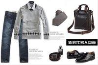 Сумка через плечо Wholsale 2011 fashion men business handbag, men leather briefcase, men document handbags, men office bag