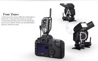 Специальный магазин Aputure 3 PCS TXII 2.4G Trigmaster Plus II Wireless Remote Flash & Shutter Trigger for Canon/Nikon/Olympus/ Pentax Camera