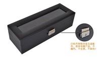 5pcs смотреть коробки подарка & пу шкатулка & Смотреть Коробка /watch дизайн