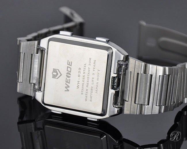 Цифровые мужские светодиодные часы с двумя циферблатами! в Донецке - изображение 2