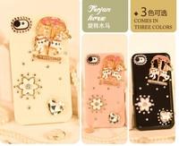Чехол для для мобильных телефонов pink carousel mobile-phone case for Iphone 4/4S/5