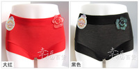 Женские трусики High waist bamboo fiber in 1151 the large code Seamless Ms. Panties 9 comfortable cotton color