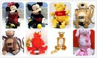 Поводки, Кенгуру Goldbug Baby Anti-lost Backpack Belt Safety Products Monkey School Walking Bag