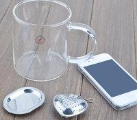 стрейнер чая нержавеющей стали чай мяч, приправа мяч суп мяча популярных портативных Посуда чайная посуда