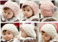 Корея детей шляпу новый apple торт береты мороженое baby шляпы Мягкая зима Детская шляпа ca049