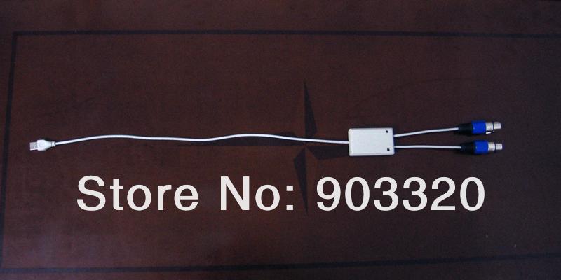 Купить DMX USB interfacewith 2 DMX512 Вселенной Выходных Портов, 2 DMX512USB Порт Для Свет Этапа, Свет Этапа Программного Обеспечения