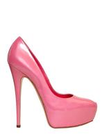 Туфли на высоком каблуке DARK BLUE pu Women Flower 1