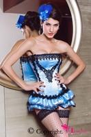 Корсет Velvet Doll Corset Corselet With Skirt Womens LC5127 corsets women blusas langerie sexy corselet