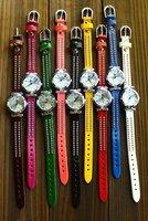 Наручные часы dropshipping + cute kids green quartz wrist watches kow008 Chinese gift items for Christmas