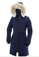 EMS новых женщин длинные пальто / бренд дизайн вниз куртка падение судоходство sz: xs-xxl
