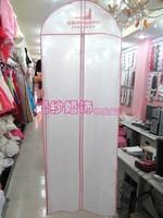 Мешок для хранения Non woven bag Wedding dresses dust cover Closet storage Dust cover for clothes