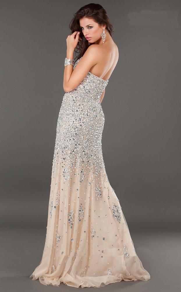 Платье джованни с камнями