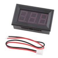 Вольтметр New 4.5-30V DC Digital Display Voltmeter 3Bit Red LED Voltage Panel Meter