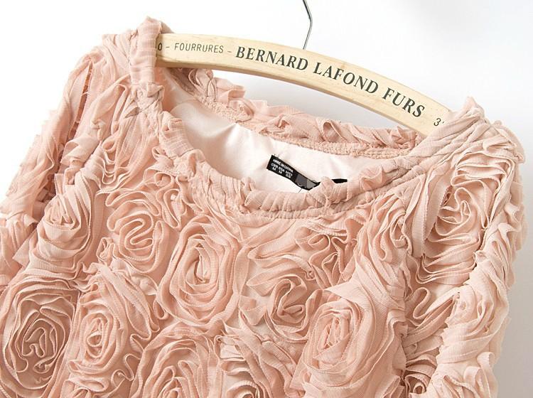 Блузки Эффектом 3D