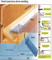 Потребительские товары 1.5/1.8/3.2 meters width #4010 White Translucen Stretch Ceiling Film and PVC stretch ceiling film small order