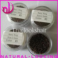 Микрокольца для наращивания волос 1000pcs/lots, color1 Nano ring for Hair Extensions, Hair Extension Tools