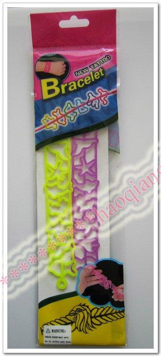 Bracelets or Bangles Type: tattoo. color: 6colors. Description. New product!Tatoo Bracelet(1set=2pcs). Tatoo Bracelet,6 colors,show as the pics,Hot selling!