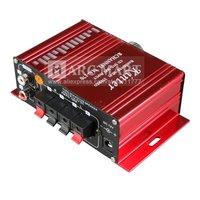 Автомобильный усилитель 50pcs/Lot Hi-Fi Digital 2 Channel LA4625 Car Power Amplifier T-AMP For MP3/MP4/Radio/iPod DHL Shipping#AM091