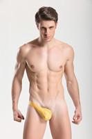 Мужские стринги JQK Mens Sexy Unilateral Leather Right side T-back / Thongs / Underwear / Lengerie 4 pcs / lot