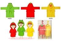 продаете новый дизайн, Терри Халат - толстовка/толстовка костюм полотенце ребенка Халат - детские Халаты детские мультфильм с капюшоном 3шт/много